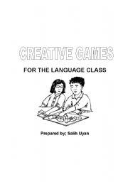 English Worksheet: Creative Games for the Language Class