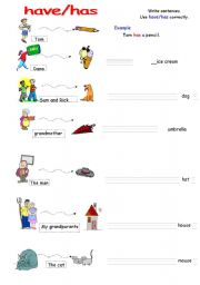 Printables Easy Grammar Worksheets have has easy grammar worksheet