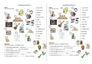 English Worksheet: FUN AND ENTERTAINMENT