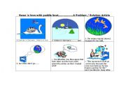 English Worksheet: A swan falls in love with a paddle boat - ANSWER KEY