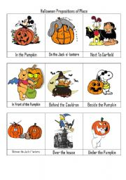 9 spooky preposition of place
