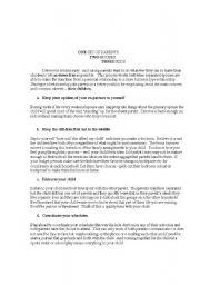 English Worksheets: Never heard of divorce!