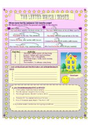 English Worksheets: Relative WHO and WHICH