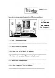 English Worksheets: There is or There is�nt