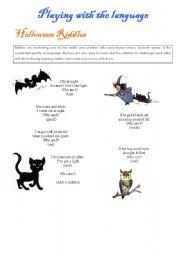 Halloween activities (set 5/9)