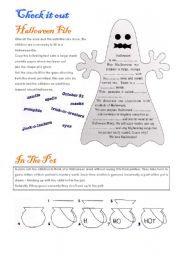 Halloween activities (set 8/9)