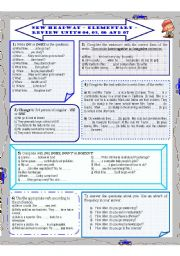 English Worksheet: New Headway - Elementary - part 02