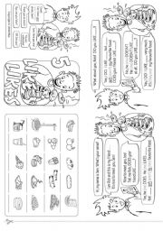 English Worksheets: Favourite Food
