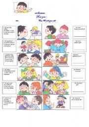 English Worksheets: writing 1