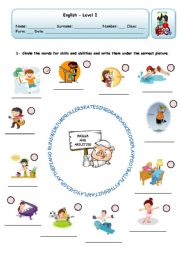English Worksheets: SKILLS AND ABILITIES