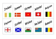 Countries and nationalities - Pairs game 2