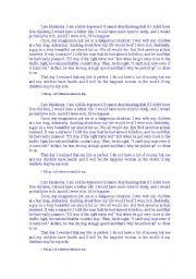 English Worksheets: I am Madalena