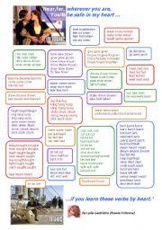 English Worksheets: RHYMED IRREGULAR VERBS