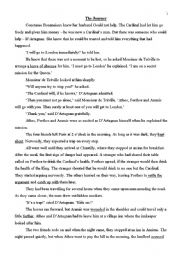 English Worksheets: 3 musketeers part 3