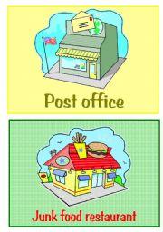English Worksheet: shops 3/5