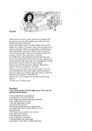 English Worksheets: GLADYS