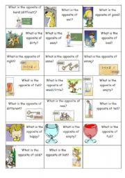 Opposite Flashcards (part 2 of 3)