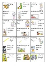 Opposite Flashcards (part 3 of 3)