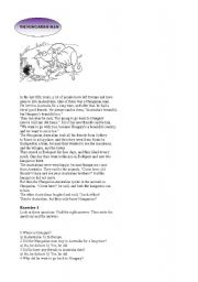 English Worksheets: the hungarian man