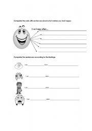 English Worksheets: Writing exercises