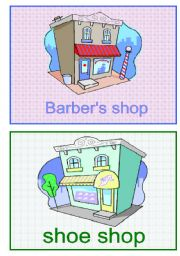 English Worksheet: shops 5/5