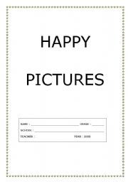 English Worksheets: Happy pictures