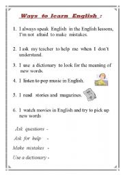 learning english for adults