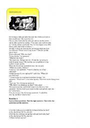 English Worksheets: MR ROBINS