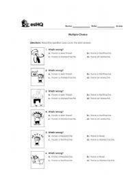 test 1 - ESL worksheet by carlos0491
