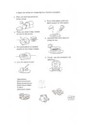 English Worksheets: HOW TO PREPARE A SANDWICH (FOR KIDS)