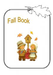 English Worksheet: fall book