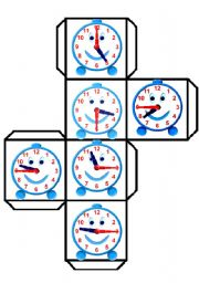 English Worksheet: TIME DICE 2