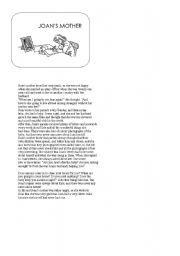 English Worksheets: John´s mother