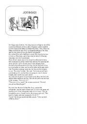 English Worksheets: Joe Biggs