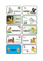 English Worksheets: Rewards!