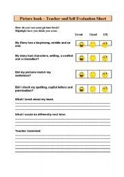 English Worksheets: picturebook evaluation