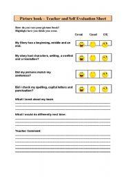 English Worksheets: picturebook evaluation