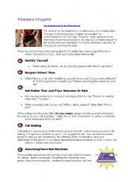 Telephone Etiquette - Business English
