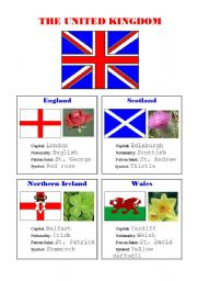 FLAGS AND SYMBOLS OF THE UK