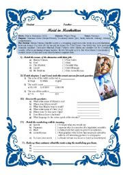 English Worksheets: Maid in Manhattan