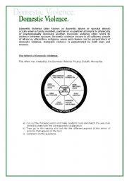 Domestic Violence Esl Worksheet By E Teacher