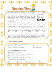 worksheet: READING INCA BOY