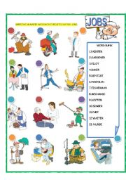 English worksheets: Jobs - Occupations worksheets, page 39