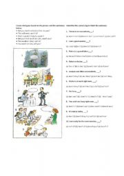 English Worksheets: Tag questions exercises
