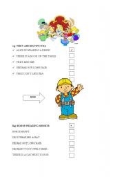 English Worksheets: READING COMPREHENSION FOR BEGINNERS