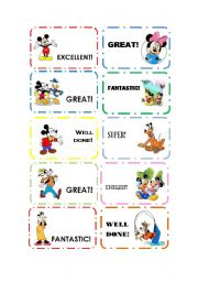 English Worksheets: Rewards