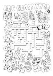 Alphabet Crossword