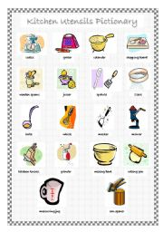 english teaching worksheets in the kitchen. Black Bedroom Furniture Sets. Home Design Ideas