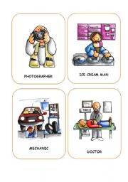 JOBS FLASHCARDS 6