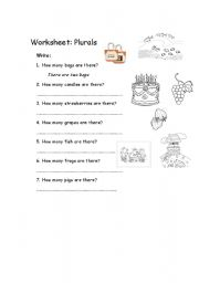 English Worksheets: Answer the questions: How many....?